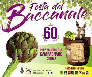 La festa del baccanale 2018 a Campagnano di Roma