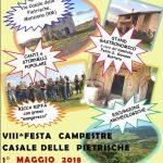 Festa campestre alle Pietrischie di Manziana 1° maggio 2018