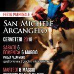 programma delle celebrazioni per San Michele Arcangelo 2018 a Cerveteri