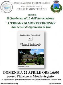 presentazione del libro L'eremo di Montevirginio a cura della Forum Clodii