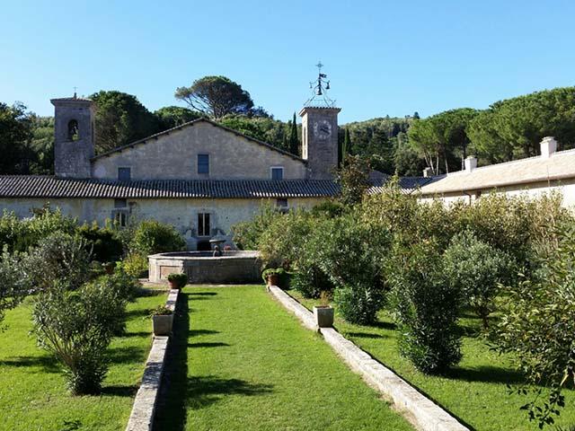 giardini e eremo di Montevirginio, Canale Monterano