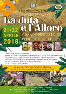 manifesto de La Iuta e l'Alloro 2018 a Sutri