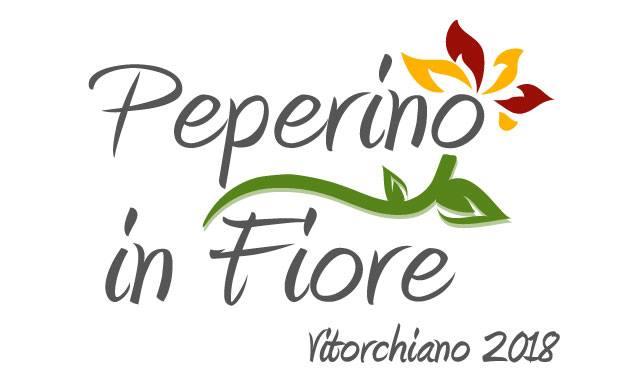 logo di Peperino in fiore 2018 a Vitorchiano, la manifestazione floreale