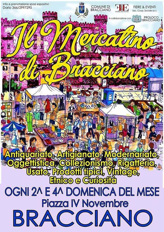 manifesto del Mercatino di Bracciano