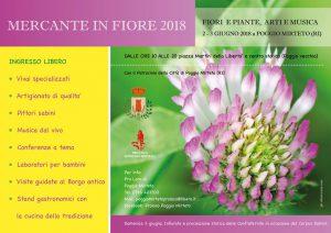 Mercante in fiore 2018 Poggio Mirteto