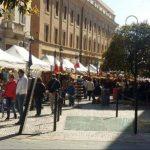 mercatini lungo le vie centrali di Civitavecchia