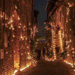 Notte delle candele 2018 Borgo Ripa (ROMA)