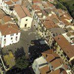 veduta aerea di Monteflavio