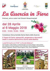 Programma della Quercia in Fiore 2018 a Viterbo