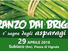 Sagra degli asparagi SUBIACO 2018