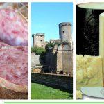 salame cotto e pecorino romano prodotti dop di Nepi