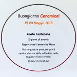 Buongiorno Ceramica 2018 a Civita Castellana