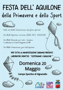 festa degli aquiloni a Vignanello 2018
