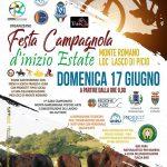 Festa campagnola di inizio estate 2018 a Monte Romano