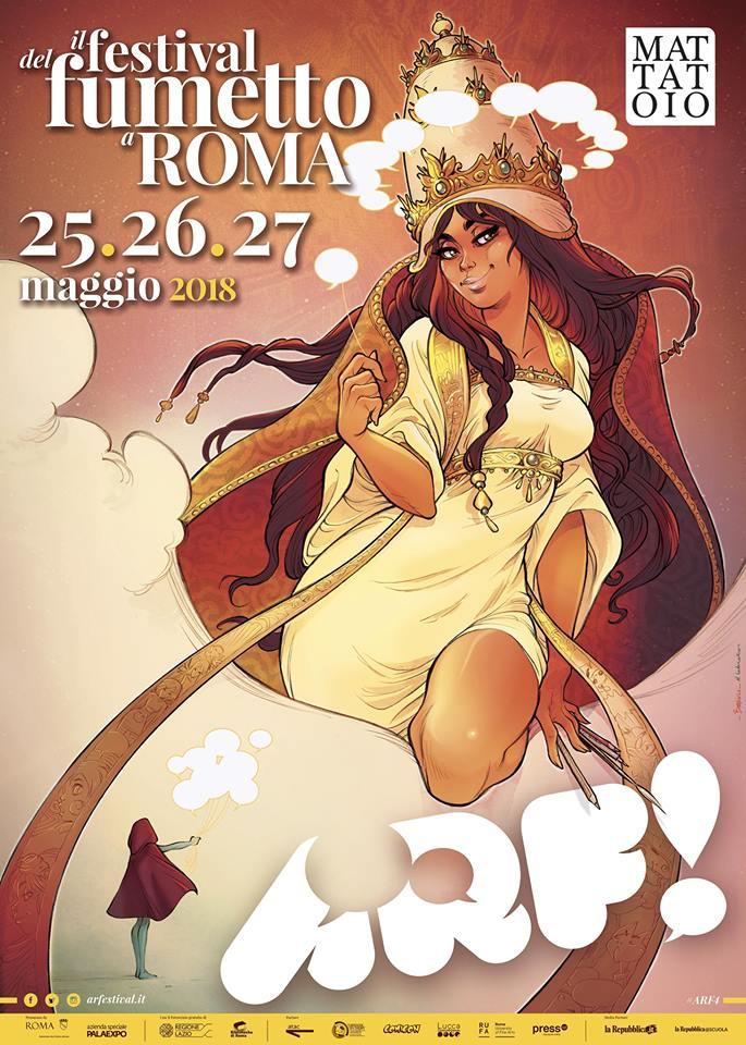 Festival del fumetto Roma 2018