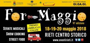For-Maggio 2018 a Rieti