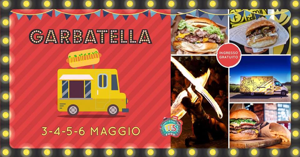 Garbatella street food festival 2018