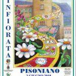 Infiorata 2018 a Pisoniano per il Corpus Domini
