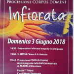 Infiorata 2018 a Manziana per il Corpus Domini