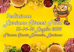 Lariano Street Food 2018