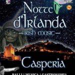 Notte d'Irlanda a Casperia (giugno 2018)