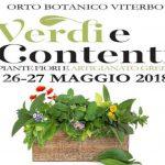 fiera del giardinaggio 2018 all'orto botanico dell'Università della Tuscia