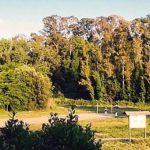 ingresso al Monumento Naturale del Parco della Cellulosa a Roma