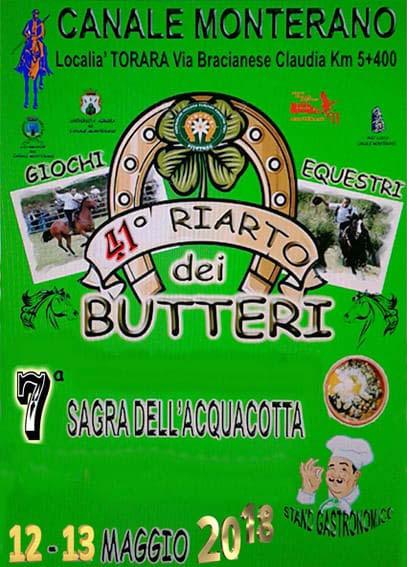 Riarto dei butteri a Canale Monterano e Sagra dell'acquacotta