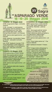 programma della Sagra dell'asparago verde