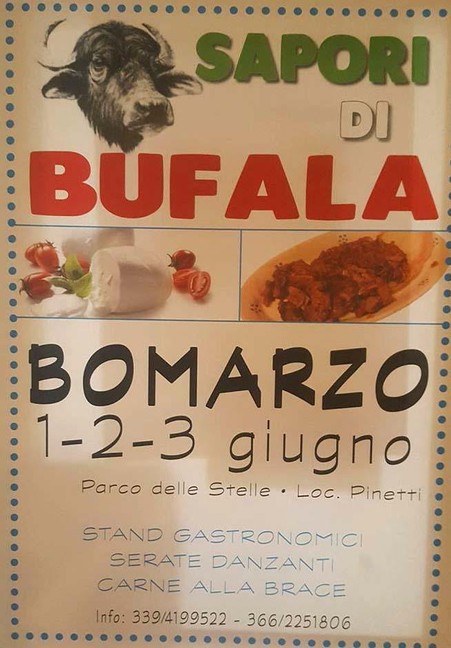 sapori di bufala a Bomarzo 2018