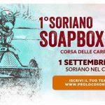 la soapbox race a Soriano nel Cimino 2018