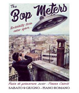 I Bop Meters in concerto alla Festa di primavera 2018