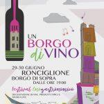 Borgo DiVino festival enogastronomico a Ronciglione 2018