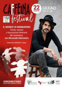 Il Mondo di Mannarino al Caffeina Festival 2018