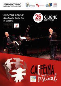 Gino Paoli e Danilo Rea al Caffeina Festival 2018