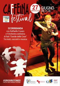 l'orchestra Davide delle Cese al Caffeina Festival 2018