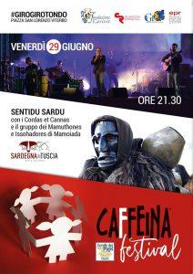Sardegna in Tuscia al Caffeina festival 2018
