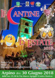 Cantine d'estate 2018 a Arpino (FR)