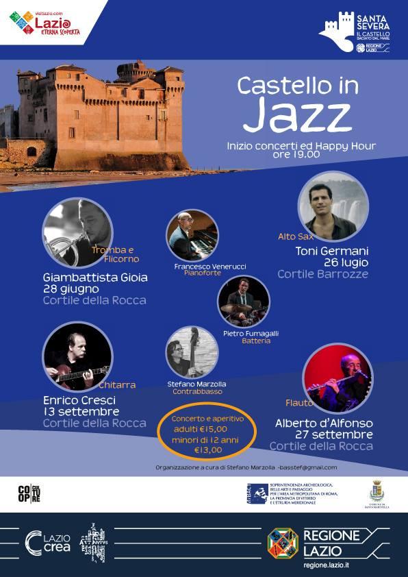 concerti jazz al castello di Santa Severa 2018