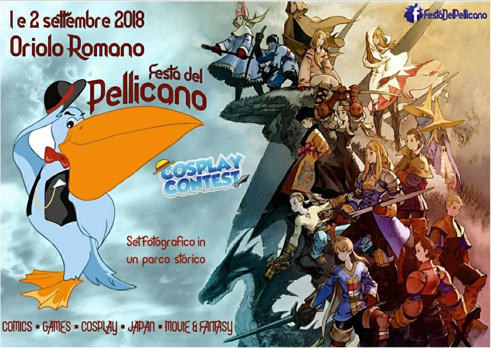 cosplay alla Festa del Pellicano Oriolo Romano 2018