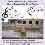 Festa della musica 2018 alle Terme Taurine di Civitavecchia