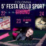 Festa dello sport Colonna 2018