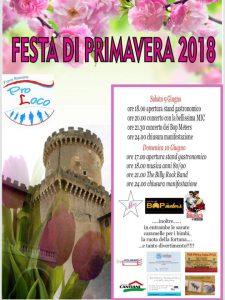 Festa di Primavera 2018 a Fiano Romano