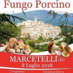 Festa del fungo porcino Marcetelli 2018