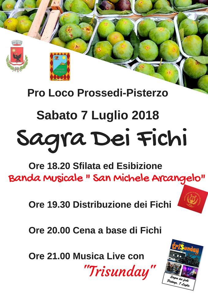 Sagra dei Fichi Prossedi Pisterzo 2018