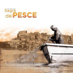 manifesto della Sagra del pesce 2018 a Anguillara Sabazia
