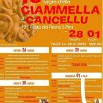 Sagra della Ciammella a Cancellu Mentana 2018