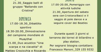Sagra della gioventù Bassano Romano 2018