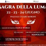 programma musicale della Sagra della lumaca Allumiere 2018