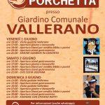 programma della Sagra della porchetta 2018 a Vallerano